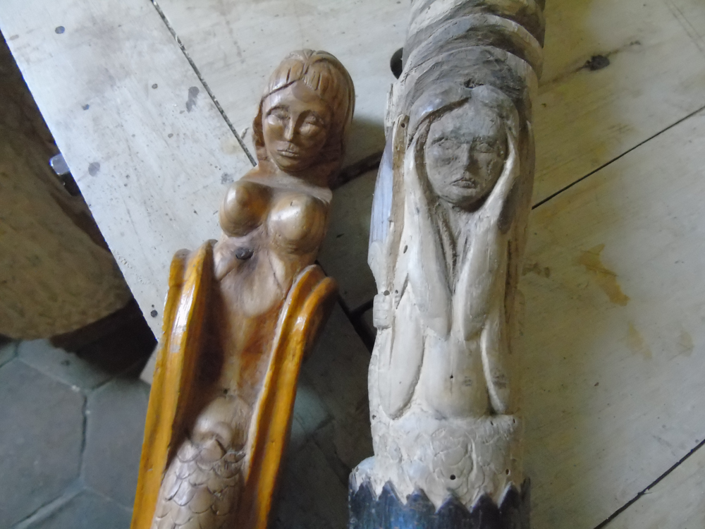 carvings 1 MERMAIDEN